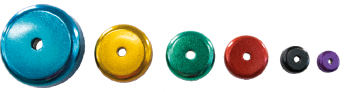 Coloured Neodymium Pot Magnets