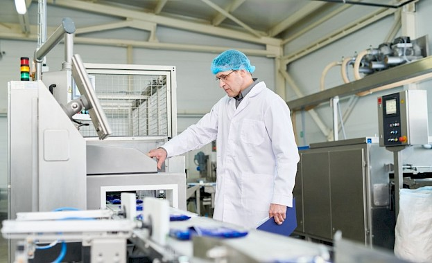Food industry - metal detection and separation