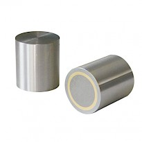 Alnico Deep Pot Magnets (Zinc Plated)