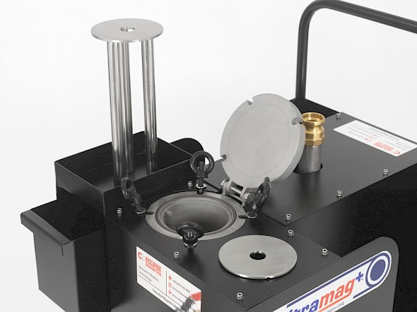 Filtramag+ Mobile Filtration Unit with Top Section
