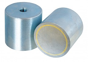 Alnico Deep Pot Magnets (With Threaded Hole)