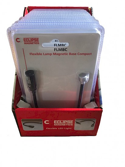 Compact Flexible Magnetic Lamp  (with magnetic base) packs